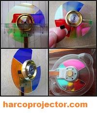 Colour Wheel Projector (Sparepart Proyektor)