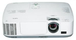 DLP Projector NEC V300X (3000 Lumens) XGA Resolution