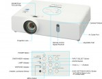 Panasonic PT-VW355N (4000 Lumens) WideScreen Projector